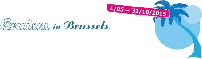 Cruises in Brussels 2015. Brussels, city by the water - harbor city